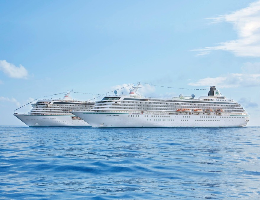Crystal Cruises The World S Best Captainsvoyage Com